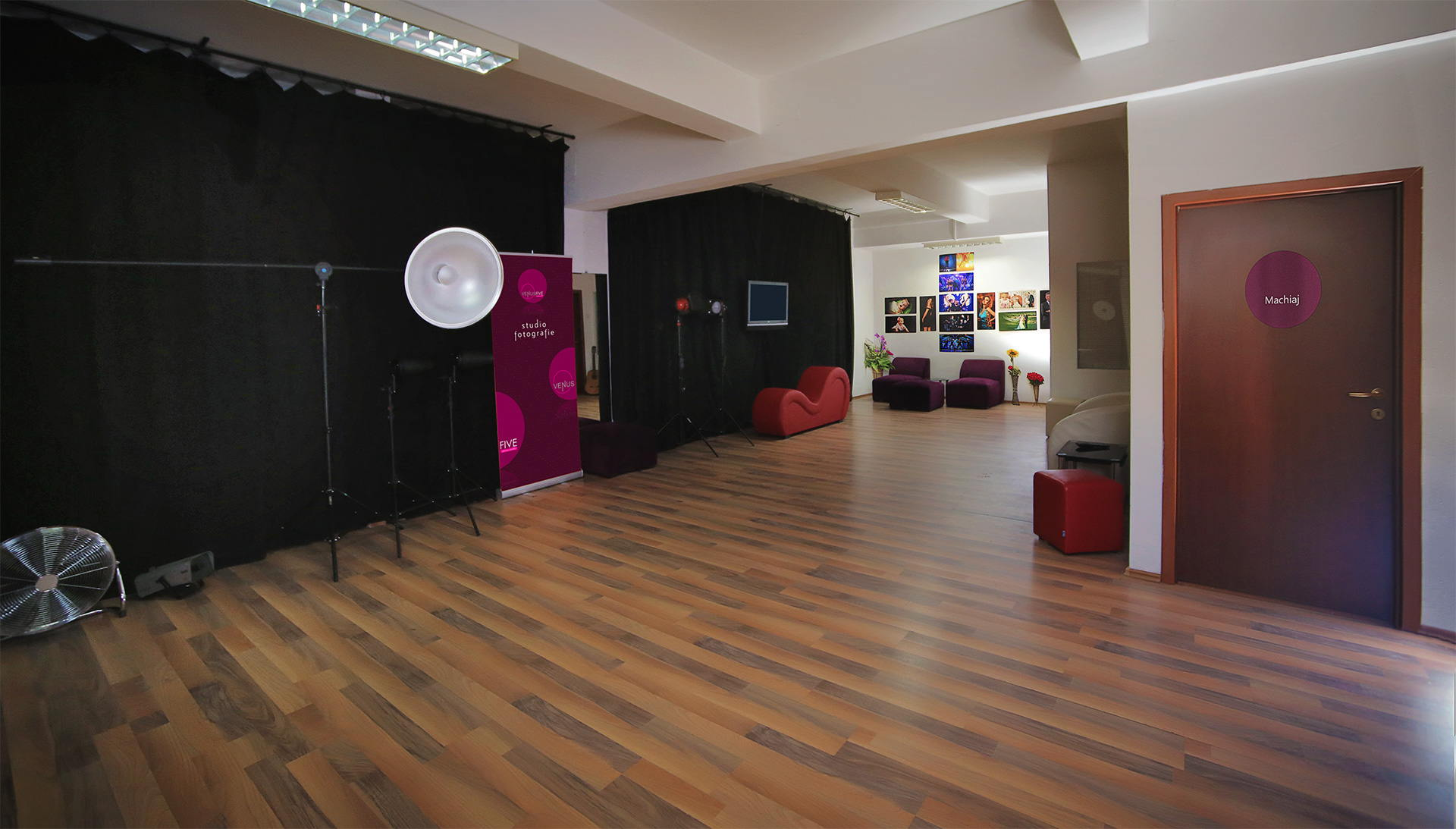 Studio Foto Bucuresti Spatios - Photo Studio Renting in Bucharest