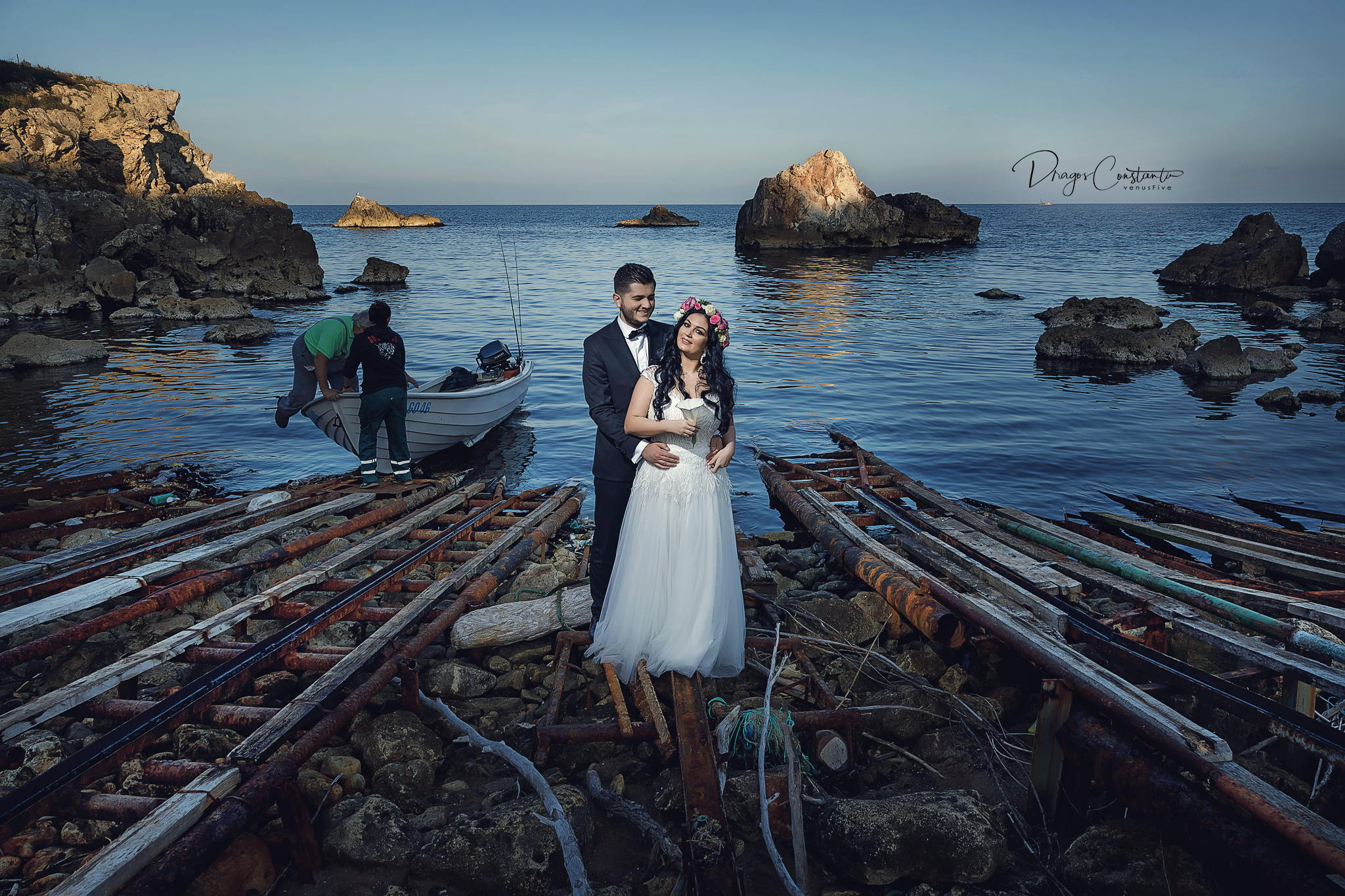 Sedinta foto Trash the Dress Photoshoot Bulgaria