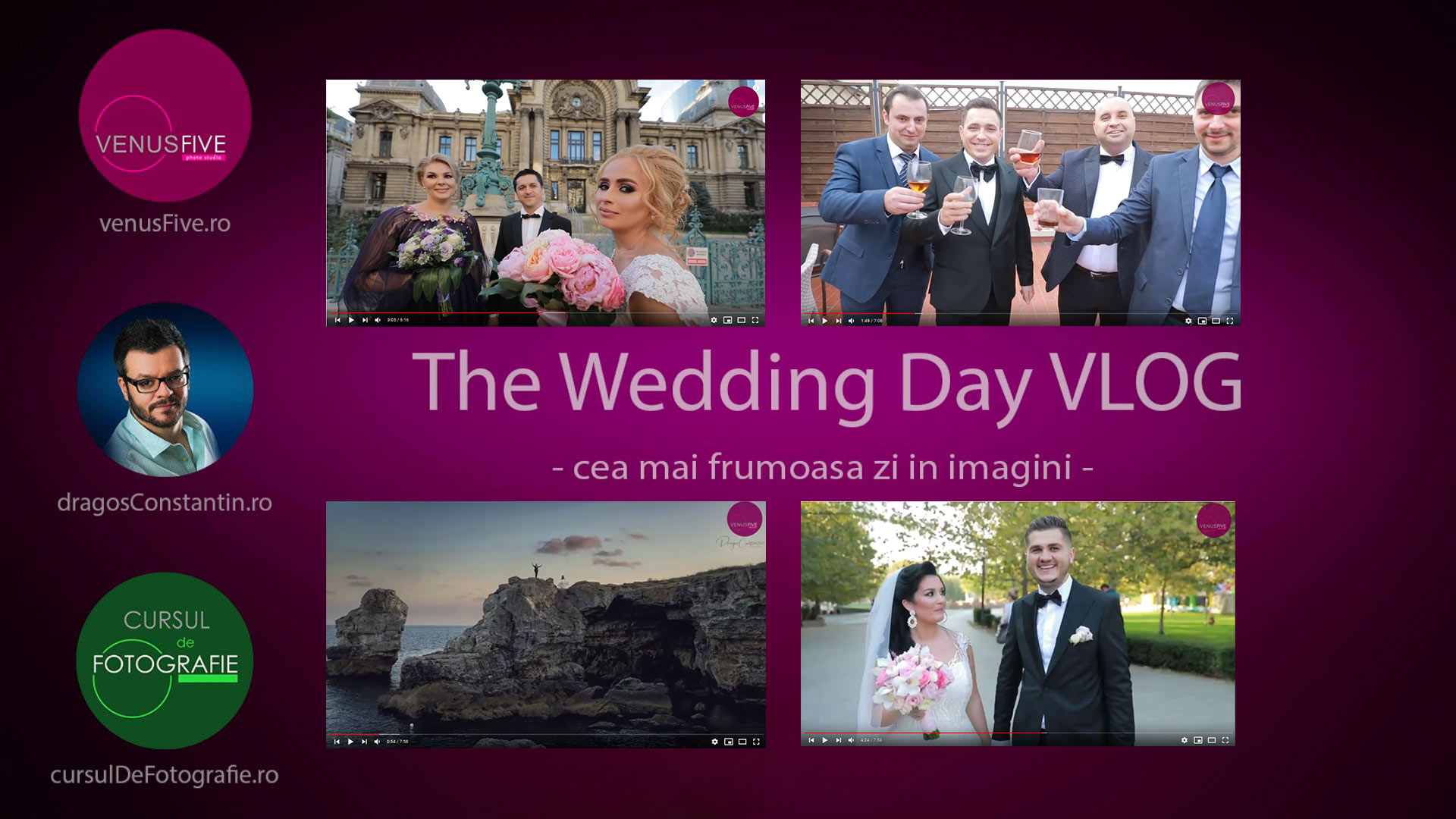 Vlog in ziua nuntii - The Wedding Day Vlog
